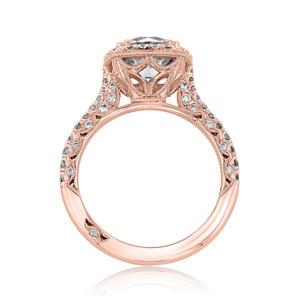 Tacori Petite Crescent Engagement Ring (HT2571CU75)