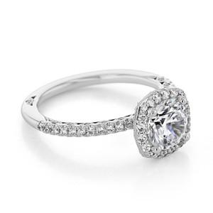 Tacori Petite Crescent Engagement Ring (HT257215CU7)