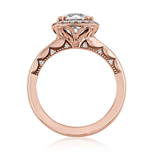 Tacori Coastal Crescent Engagement Ring (P1032CU8)