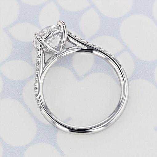 Danhov Micro-Prong Round Shape Diamond Engagement Ring (2006372)