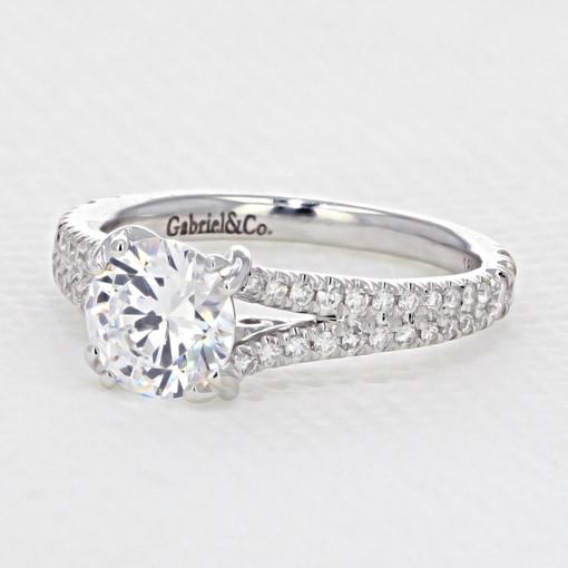 Micro-Prong Engagement Ring (AV13)