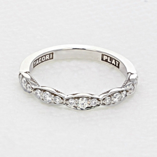 Tacori Sculpted Crescent Wedding Band (46-25)