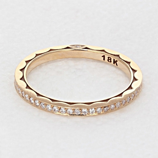 Tacori Sculpted Crescent Wedding Band (264915BPK)