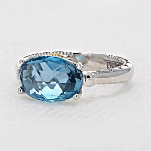 Gemma Bloom London Blue Topaz Fashion Ring (SR13933)