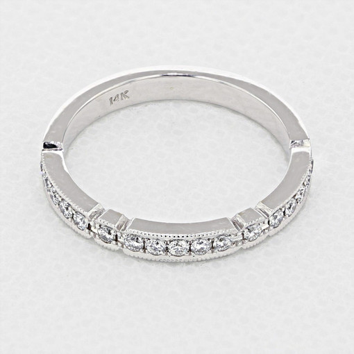 Pavé Wedding Band (LB4)