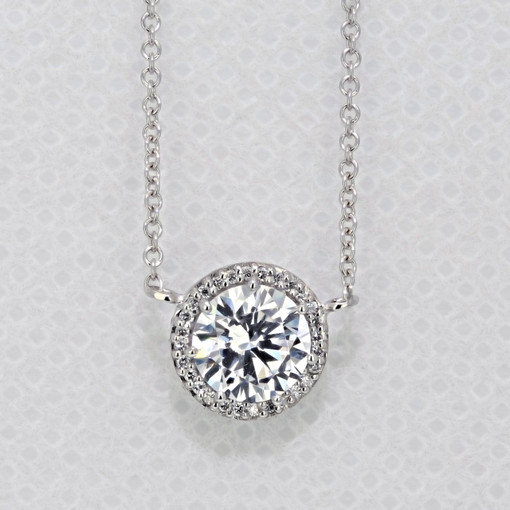 Tacori Dantela Moissanite Fashion Necklace (FP6706-M)