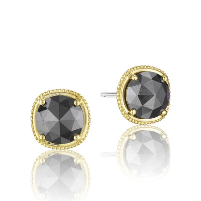 Crescent Embrace Hematite Fashion Earrings  (SE154Y32)