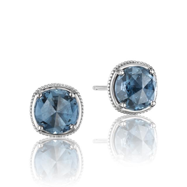 Gemma Bloom London Blue Topaz Fashion Earrings  (SE15433)