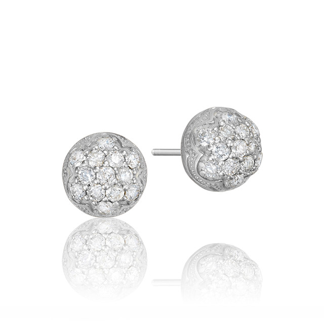 Sonoma Mist Petite Diamond Fashion Earrings (SE203)