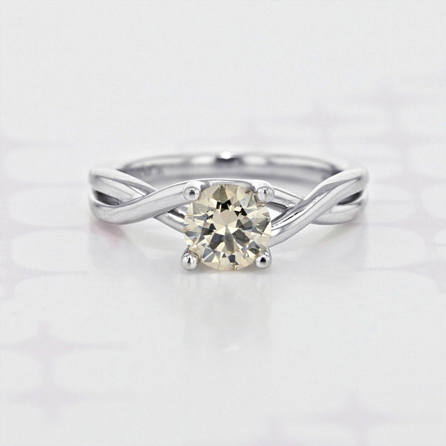 Gabriel NY Twist Solitaire Engagement Ring (2006065)