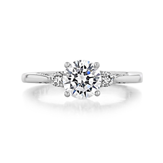 1 ct Simply Tacori White Gold Engagement Ring (2656RD65W)