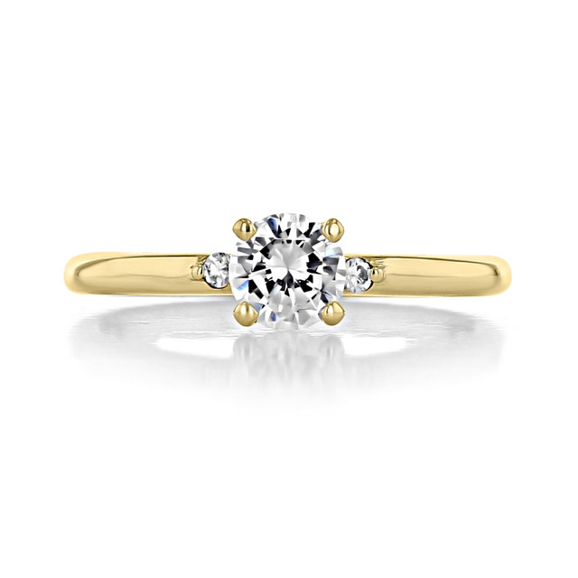 .50 ct Round Solitaire Yellow Gold Engagement Ring (2005234-YG)