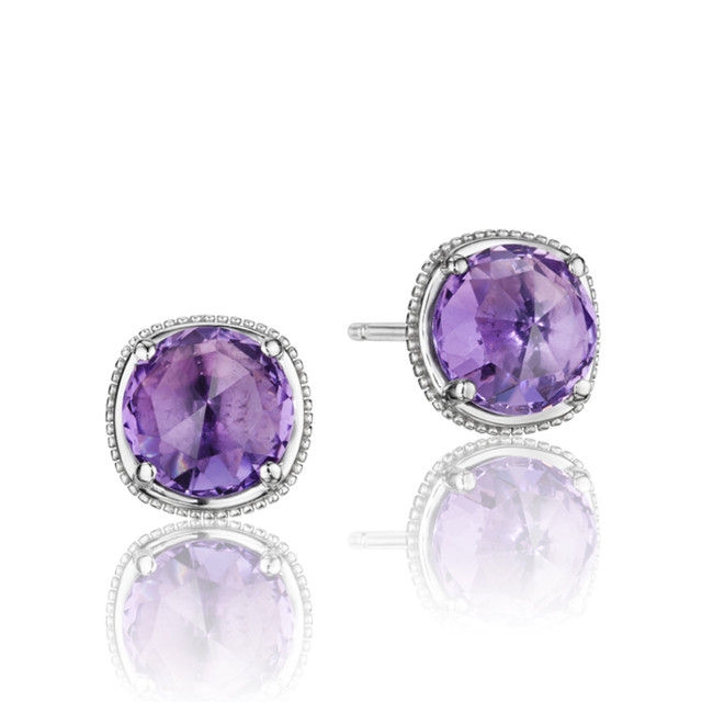 Gemma Bloom Amethyst Fashion Earrings (SE15401)