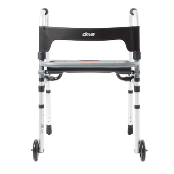 Clever-Lite LS Dual Release Folding Walker Drive Medical 10233
