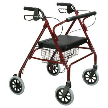 drive Go-Lite Bariatric 4 Wheel Rollator Drive Medical 10215BL-1