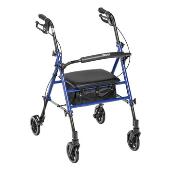 drive 4 Wheel Rollator Drive Medical RTL10261BL