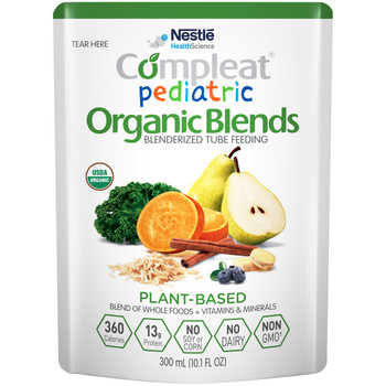 Compleat Pediatric Organic Blends Pediatric Oral Supplement / Tube Feeding Formula Nestle Healthcare Nutrition