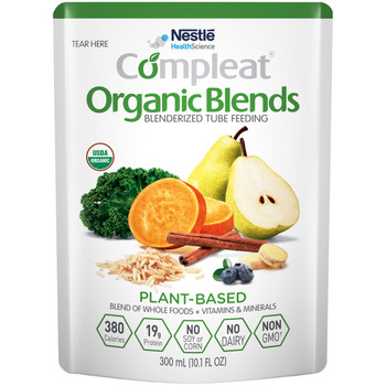 Compleat Organic Blends Oral Supplement / Tube Feeding Formula Nestle Healthcare Nutrition