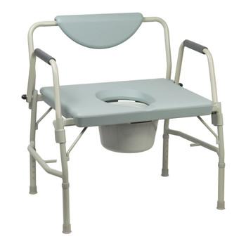McKesson Bariatric Commode Chair McKesson Brand 146-11135-1
