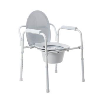 McKesson Folding Commode Chair McKesson Brand 146-11148N-4