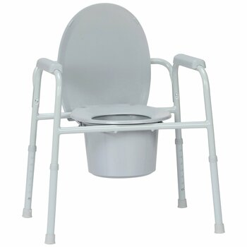 McKesson Commode Chair McKesson Brand 146-11105N-4