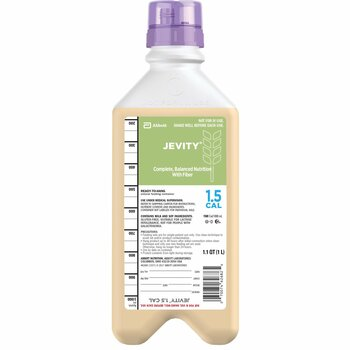 Jevity 1.5 Cal Tube Feeding Formula Abbott Nutrition 62681