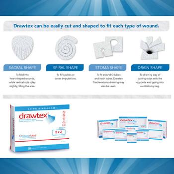 Drawtex Non-Adherent Dressing Urgo Medical North America LLC 302
