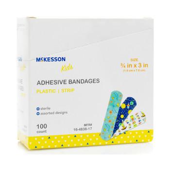 McKesson Kids Adhesive Strip McKesson Brand