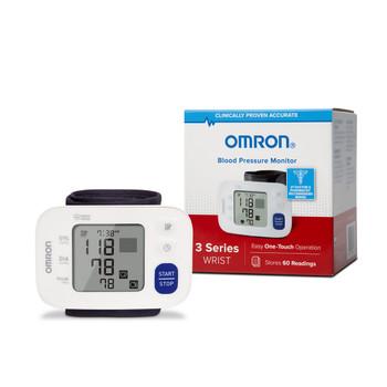 Omron 3 Series Digital Blood Pressure Wrist Unit Omron Healthcare BP6100