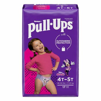 Pull-Ups Learning Designs for Girls Training Pants Kimberly Clark 51353