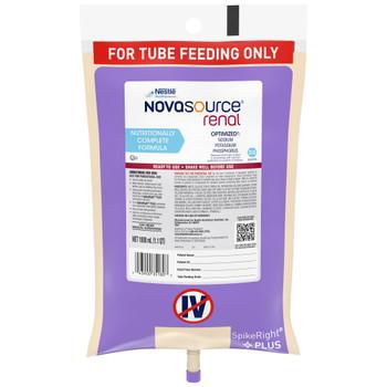 Novasource Renal Tube Feeding Formula Nestle Healthcare Nutrition 10043900351800