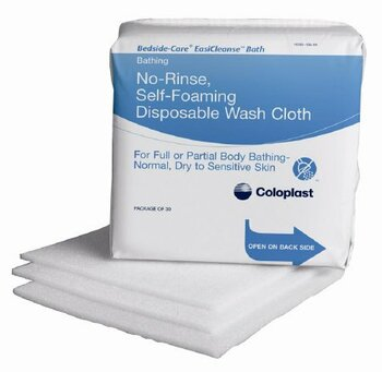 Bedside-Care EasiCleanse Rinse-Free Bath Wipe Coloplast 7055
