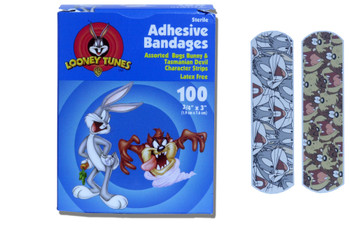 Looney Tunes Stat Strip Adhesive Strip Dukal