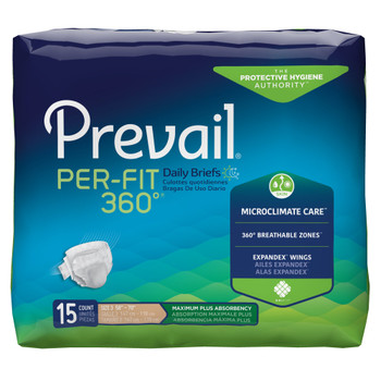 Prevail Per-Fit 360 Incontinence Brief First Quality PFNG-014