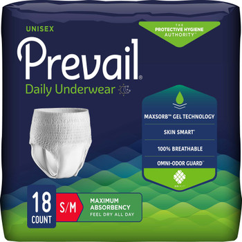 Prevail Absorbent Underwear First Quality PVS-512