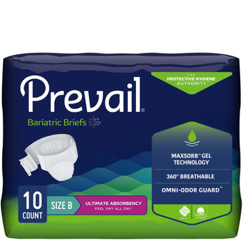 Prevail Bariatric Incontinence Brief First Quality PV-094