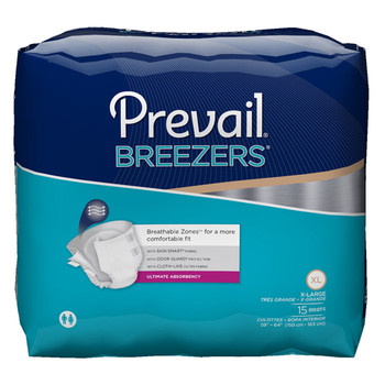 Prevail Breezers Incontinence Brief First Quality PVB-014/1