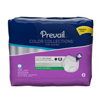 Prevail Color Collections for Women Absorbent Underwear First Quality PWV-513