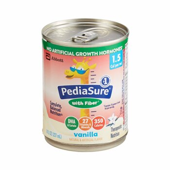 PediaSure 1.5 Cal with Fiber Pediatric Oral Supplement Abbott Nutrition