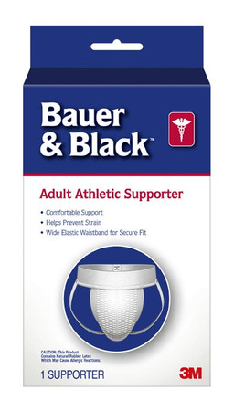 Bauer & Black Athletic Supporter 3M 202636