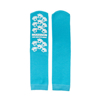 McKesson Paw Prints Slipper Socks McKesson Brand