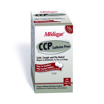 CCP Caffeine Free Cold and Cough Relief Medique Products
