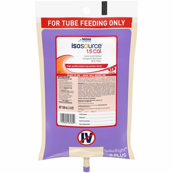 Isosource 1.5 Cal Tube Feeding Formula Nestle Healthcare Nutrition