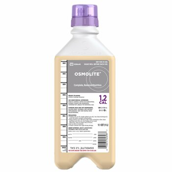 Osmolite 1.2 Cal Tube Feeding Formula Abbott Nutrition 62697