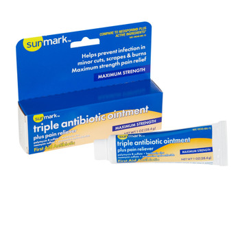 sunmark First Aid Antibiotic with Pain Relief McKesson Brand 49348060072