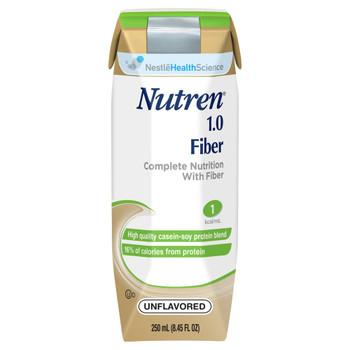 Nutren 1.0 Fiber Tube Feeding Formula Nestle Healthcare Nutrition 00798716160568