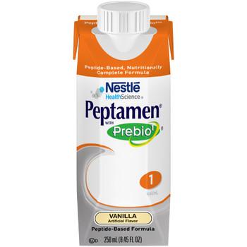Peptamen with Prebio 1 Oral Supplement / Tube Feeding Formula Nestle Healthcare Nutrition