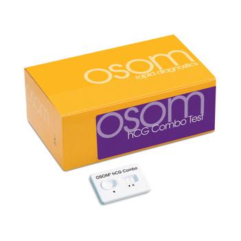 OSOM hCG Combo Rapid Test Kit Sekisui Diagnostics 124