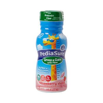 PediaSure Grow & Gain with Fiber Pediatric Oral Supplement Abbott Nutrition
