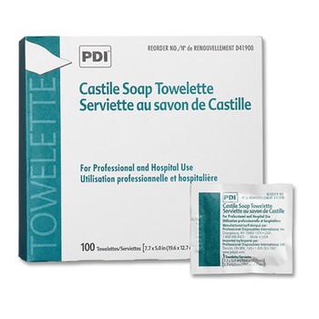 PDI Castile Soap Personal Wipe Professional Disposables D41900